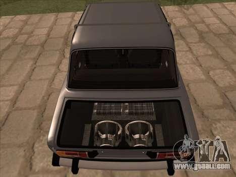 VAZ 21063 for GTA San Andreas inner view