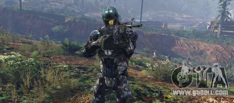 GTA 5 Crysis 2 Nanosuit Re-Texture N7