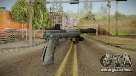 Battlefield 4 - CZ 75 for GTA San Andreas second screenshot
