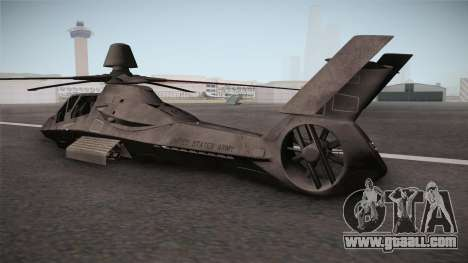 RAH-66 Comanche Retracted for GTA San Andreas left view