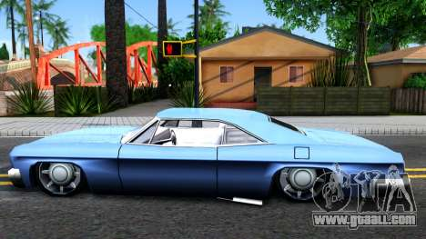 Custom Blade for GTA San Andreas left view