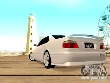 Toyota Chaser for GTA San Andreas back view