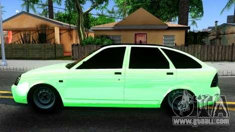 """Lada Priora """"Emerald"""" for GTA San Andreas"""