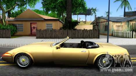 VC Stinger for GTA San Andreas left view