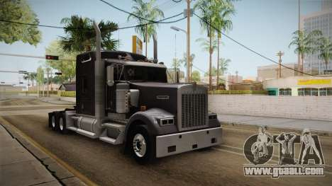 Kenworth W900 ATS 6x4 Cab Normal for GTA San Andreas