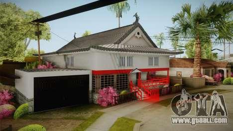 Japanese Castle CJ House for GTA San Andreas third screenshot