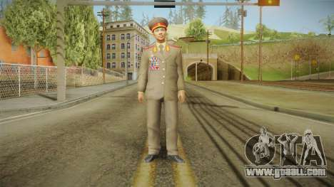 007 Legends Korean General for GTA San Andreas second screenshot