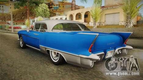 Cadillac Eldorado Brougham 1957 IVF for GTA San Andreas left view