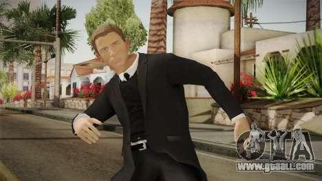 007 James Bond Daniel Craig Suit v1 for GTA San Andreas