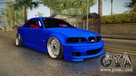 BMW 3 Series E46 Cabrio King for GTA San Andreas right view
