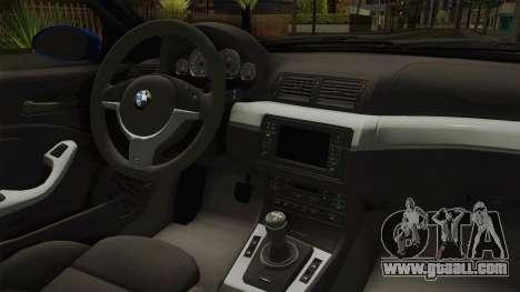BMW M3 E46 Liberty Walk for GTA San Andreas upper view