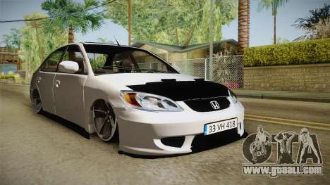Honda Civic İ-Vtec for GTA San Andreas