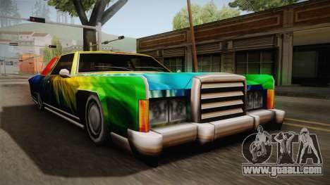 New painting work for Remington for GTA San Andreas right view