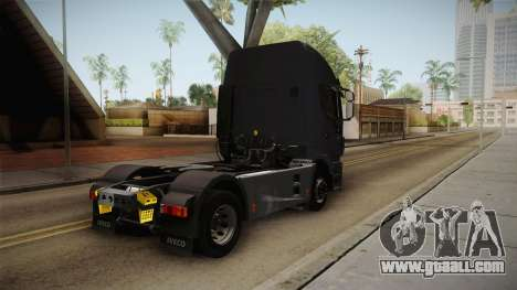 Iveco Stralis Hi-Way 560 E6 4x2 v3.1 for GTA San Andreas back left view