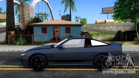 Nissan Silvia Sil80 for GTA San Andreas left view