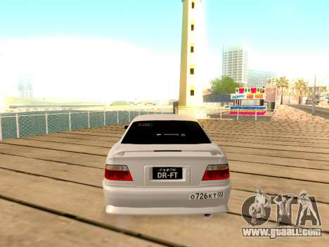 Toyota Chaser for GTA San Andreas side view