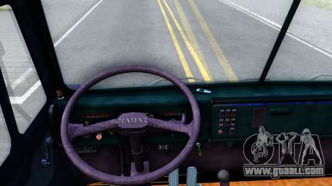 KamAZ 54115 for GTA San Andreas inner view