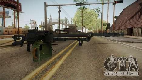 Battlefield 4 - PKP Pecheneg for GTA San Andreas