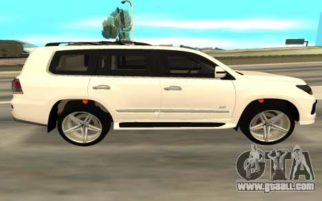 Lexus LX570 AG Armored for GTA San Andreas left view