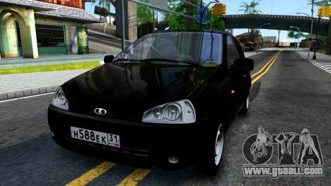 VAZ Kalina 2119 for GTA San Andreas