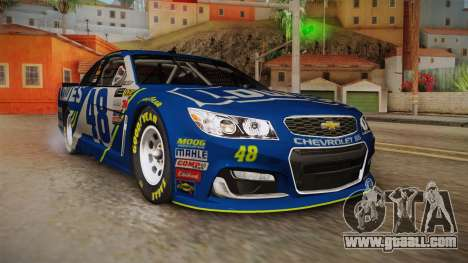 Chevrolet SS Nascar 48 Lowes 2017 for GTA San Andreas