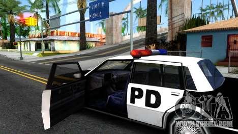 Nebula Police for GTA San Andreas inner view