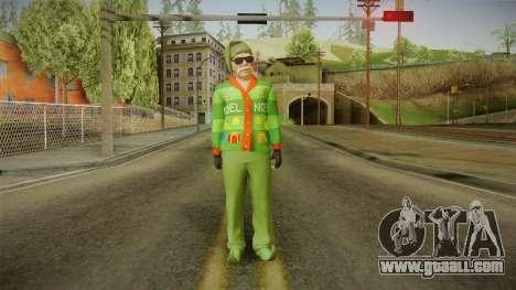 GTA 5 Special Christmas Skin for GTA San Andreas second screenshot