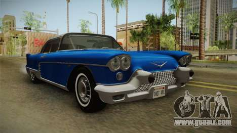 Cadillac Eldorado Brougham 1957 IVF for GTA San Andreas right view