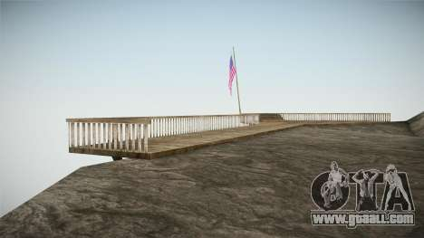 Mount Chiliad Retexture for GTA San Andreas second screenshot