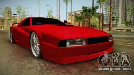 Cheetah Bielakworkshop for GTA San Andreas