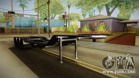 American Multiple Carrier Trailer for GTA San Andreas right view
