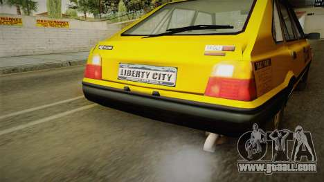 FSO Polonez Caro L.C.C TAXI for GTA San Andreas back view