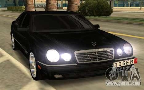 Mersedes Benz E420 for GTA San Andreas