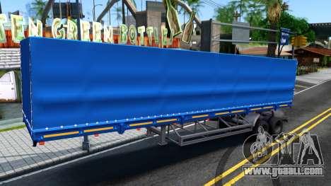 Trailer NefAZ for GTA San Andreas
