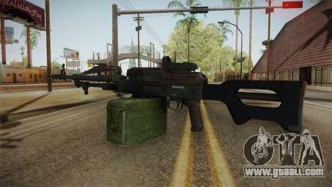 Battlefield 4 - PKP Pecheneg for GTA San Andreas second screenshot