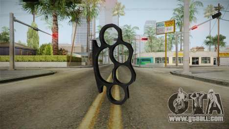 Brass Knuckles for GTA San Andreas