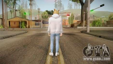 DaniRep Skin GTA Online for GTA San Andreas third screenshot