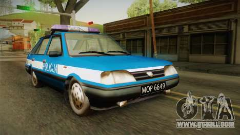 FSO Polonez Caro Policja for GTA San Andreas