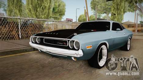 Dodge Challenger MM 1970 for GTA San Andreas right view