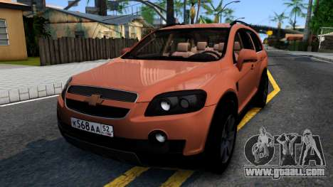 Chevrolet Captiva for GTA San Andreas