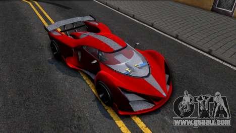 GTA V Grotti Prototipo for GTA San Andreas right view