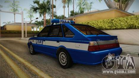 Daewoo-FSO Polonez Caro Plus Policja 1.6 GLi for GTA San Andreas back left view