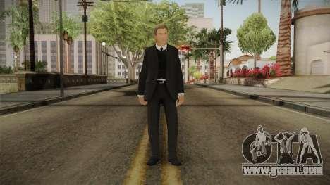 007 James Bond Daniel Craig Suit v1 for GTA San Andreas second screenshot