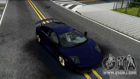 Lamorghini Murcielago LP640-4 SV 2010 for GTA San Andreas right view