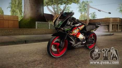 Kawasaki RR 150 for GTA San Andreas right view