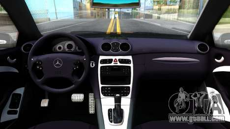Mercedes-Benz CLK55 AMG 2003 for GTA San Andreas inner view