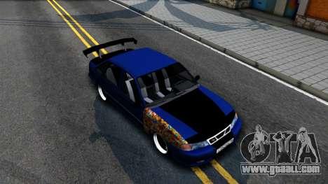 Daewoo Nexia Tuning for GTA San Andreas right view