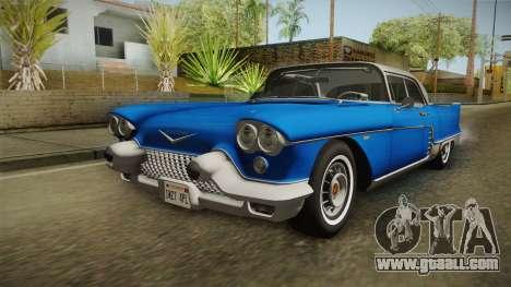 Cadillac Eldorado Brougham 1957 IVF for GTA San Andreas