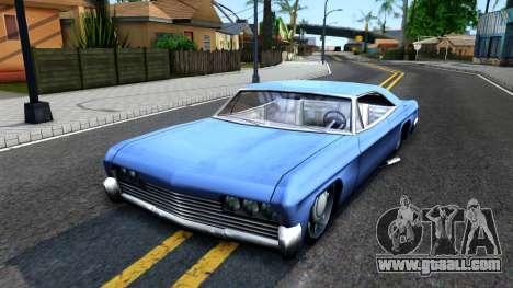 Custom Blade for GTA San Andreas