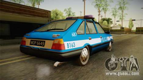 FSO Polonez Caro Policja for GTA San Andreas left view
